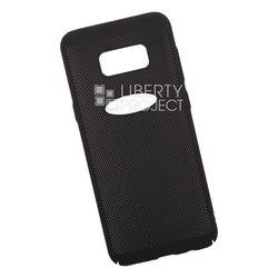 Пластиковый чехол-накладка для Samsung Galaxy S8 Plus (Liberty Project 0L-00035144) (черный) - Чехол для телефонаЧехлы для мобильных телефонов<br>Обеспечит надежную защиту Вашего мобильного устройства от повреждений, загрязнений и других нежелательных воздействий.