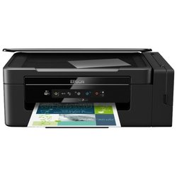 Epson L3050 - Принтер, МФУПринтеры и МФУ<br>Epson L3050 - принтер/сканер/копир, A4, печать  пьезоэлектрическая струйная цветная, 4-цветная, 33 стр/мин ч/б, 15 стр/мин цветн., 5760x1440 dpi, подача: 100 лист., вывод: 30 лист., USB, Wi-Fi, печать фотографий