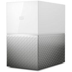 WD WDBMUT0040JWT-EESN - Внутренний жесткий диск HDDВнутренние жесткие диски<br>Сетевое хранилище My Cloud Home Duo, кол-во установленных HDD: 2, общий объём установленных HDD: 2 Тб, количество отсеков для HDD: 2, форм-фактор HDD: 3.5quot;, 2хUSB 3.0.
