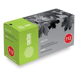 Тонер картридж для Canon i-SENSYS LBP3010, LBP3020 (Cactus CS-C712R) (черный) - Картридж для принтера, МФУ