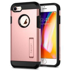 Чехол-накладка для Apple iPhone 7, 8 (Spigen Tough Armor 2 054CS22215) (розовое золото) - Чехол для телефонаЧехлы для мобильных телефонов<br>Защитит смартфон от грязи, пыли, брызг и других внешних воздействий.