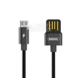 Кабель USB-microUSB 1м (Remax Tinned Copper Series Cable RC-080m) (черный) - КабелиUSB-, HDMI-кабели, переходники<br>Кабель для синхронизации и зарядки устройства, разъемы: USB-microUSB. Изготовлен из высококачественных материалов. Длина кабеля 1 м.