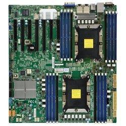 Supermicro X11DPH-T (MBD-X11DPH-T-O) RTL - Материнская платаМатеринские платы<br>Intel C624, 2xLGA3647 (Socket P), 16xDDR4 DIMM, 3xPCI-E x16, встроенный звук: нет, встроенная графика, Ethernet: 2x10 Гбит/с, форм-фактор EATX, USB 3.0.