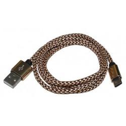 Кабель USB Type-C - USB (PALMEXX PX/CBL-USBC2 PERE) (черно-золотистый) - Usb, hdmi кабель, переходник  - купить со скидкой