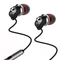 Remax RM-585 (черный) - НаушникиНаушники и Bluetooth-гарнитуры<br>Remax RM-585 - наушники с микрофоном, вставные (затычки), чувствительность 92 дБ/мВт, импеданс 16 Ом, разъем mini jack 3.5 mm, поддержка iPhone.