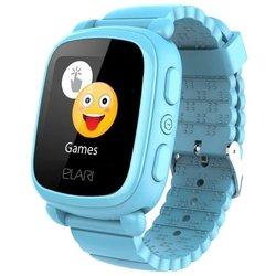 Elari KidPhone 2 (голубой) - Умные часы, браслетУмные часы и браслеты<br>Elari KidPhone 2 - умные часы, сенсорный экран 1.44quot;, встроенный телефон, совместимость с Android, iOS