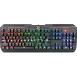 Redragon Varuna  - КлавиатураКлавиатуры<br>Redragon Varuna - клавиатура, мембранная, классическая, программируемая RGB подсветка, USB, количество клавиш: 104 шт, длина кабеля: 1.8 м.