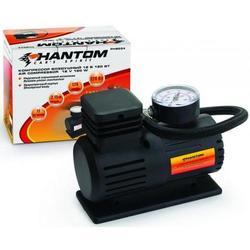 Phantom РН2034 - КомпрессорКомпрессоры<br>Компрессор, максимальный ток потребления - 7 A, максимальное давление, атм. - 17, напряжение питания - 12 В, производительность - 12 л/мин, подключение - прикуриватель, длина шланга - 0.45 м, длина провода питания - 2.75 м, размер - 125x148x70 мм.