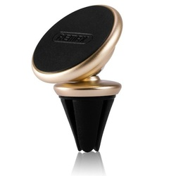 Автомобильный магнитный держатель Remax RM-C28 (золотистый) - Автомобильный держатель для телефона