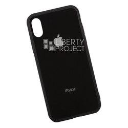 Пластиковый чехол-накладка для Apple iPhone X (0L-00035927) (черный) - Чехол для телефона  - купить со скидкой