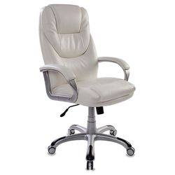 Кресло руководителя Бюрократ T-9905S/WHITE (белый) - Стул офисный, компьютерный Джетысай Продажа б у