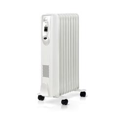 Ballu Comfort BOH/CM-09WDN (белый) - ЭлектрообогревательОбогреватели и тепловые завесы<br>Масляный радиатор, площадь обогрева 25 кв.м, мощность обогрева 2000 Вт, механическое управление, защита от перегрева.