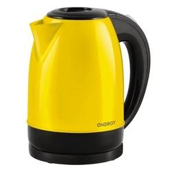 Energy E-277 (желтый) - ЭлектрочайникЭлектрочайники и термопоты<br>Energy E-277 - чайник, 1.7 л, 2200 Вт, металл.