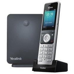 Yealink W60P - IP телефонVoIP-оборудование<br>Yealink W60P - VoIP-телефон, поддержка DECT, поддержка SIP, LAN