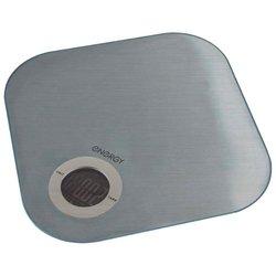 Energy EN-429S - Кухонные весыКухонные весы<br>Energy EN-429S - электронные, предел взвешивания 5 кг, точность измерения +/- 1 г, материал платформы чаши: сталь, тарокомпенсация, индикатор заряда батареи, автоматическое выключение