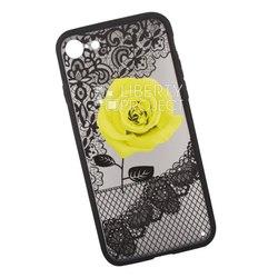 Чехол-накладка для Apple iPhone 7, 8 (Liberty Project 0L-00036264) (Роза желтая) - Чехол для телефонаЧехлы для мобильных телефонов<br>Обеспечит надежную защиту Вашего мобильного устройства от повреждений, загрязнений и других нежелательных воздействий.