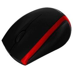 CROWN CMM-009 Black-Red USB - МышьМыши<br>CROWN CMM-009 Black-Red USB - проводная мышь, для настольного компьютера, светодиодная, 3 клавиши , разрешение сенсора мыши 800 dpi, интерфейс USB
