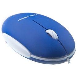 Solarbox X06 Blue USB - МышьМыши<br>Solarbox X06 Blue USB - проводная мышь, для ноутбука, светодиодная, 3 клавиши (все программируемые), разрешение сенсора мыши 1000 dpi, интерфейс USB