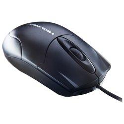 Solarbox Mou-1280 Black USB+PS/2 - МышьМыши<br>Solarbox Mou-1280 Black USB+PS/2 - проводная мышь, для настольного компьютера, светодиодная, 3 клавиши , разрешение сенсора мыши 1000 dpi, интерфейс USB + PS/2