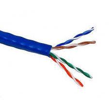 Витая пара U/UTP кат.5е 305м (Lanmaster LAN-5EUTP-BL) (синий) - КабельСетевые аксессуары<br>Витая пара U/UTP не экранированная, 4 пары, категория 5е, длина кабеля 305м.