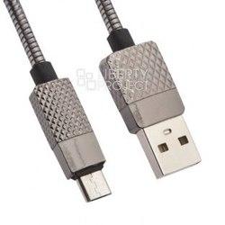 Кабель USB-microUSB 1м (Liberty Project 0L-00036301) (черный) - КабелиUSB-, HDMI-кабели, переходники<br>Кабель для синхронизации и зарядки устройства, разъемы: USB-microUSB. Изготовлен из высококачественных материалов, длина кабеля 1 метр.
