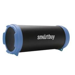 SmartBuy TUBER MKII SBS-4400 (черный, синий) - Колонка для телефона и планшетаПортативная акустика<br>Колонка Smartbuy Tuber MkII поддерживает соединение по Bluetooth каналу, имеет радио FM и MP3-плеер.