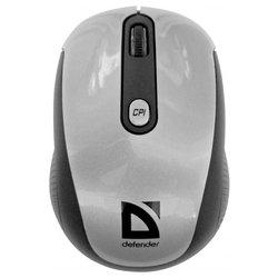 Defender Optimum MS-125 Nano Silver-Black USB (черно-серебристый) - Мышь