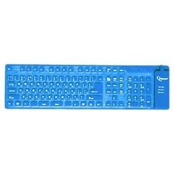 gembird kb-109fel1-bl-ru blue usb+ps/2