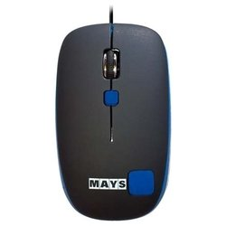 mays mn-220bl black-blue usb