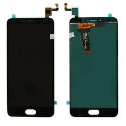 Дисплей для Meizu M5 M611H с тачскрином Qualitative Org (lcd2) (черный)  - Дисплей, экран для мобильного телефона