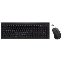 Oklick 210 M Wireless Keyboard&Optical Mouse Black USB