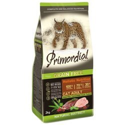 Primordial (0.4 кг) Grain Free Cat Adult Duck Turkey