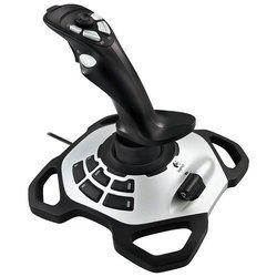 Logitech Extreme 3D Pro - Руль, джойстик, геймпадРули, джойстики, геймпады<br>Logitech Extreme 3D Pro - проводной джойстик для ПК, Mac, подключение через USB, осей: 4, переключателей вида: 1, кнопок: 12