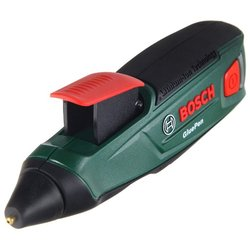 Клеевой пистолет Bosch GluePen - Клеевой пистолетКлеевые пистолеты<br>Клеевой пистолет Bosch GluePen - тип: клеевой пистолет, максимальная температура: 170 °C, максимальная потребляемая мощность: 5.40 Вт, диаметр клеевого стержня: 7 мм, минимальная длина стержня: 150 мм, питание от аккумулятора, тип аккумулятора: Li-Ion, напряжение аккумулятора : 3.60 В, емкость аккумулятора: 1.50 А·ч, клеевые стержни в комплекте , количество стержней в комплекте : 4 шт., время нагрева: 15 c, защита от подтекания, тип упаковки: коробка, вес: 142 г, цвет: красный