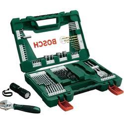 Набор инструментов BOSCH V-Line 83 (2.607.017.193) - Набор инструментовНаборы инструментов<br>Набор оснастки для дрелей и шуруповертов, 83 предмета, сверла, биты, торцевые головки.