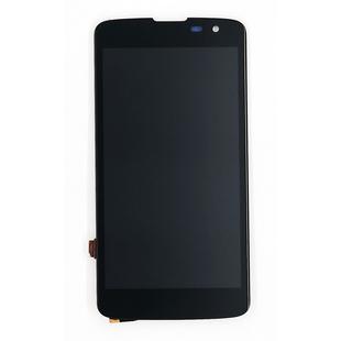 Дисплей для LG K7 X210DS с тачскрином (без рамки, 2 шлейфа) Qualitative Org (lcd) (черный)  - Дисплей, экран для мобильного телефона