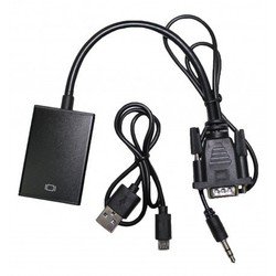 Кабель VGA - HDMI (PALMEXX PX/VGA-HDMI) - КабелиUSB-, HDMI-кабели, переходники<br>Кабель VGA - HDMI преобразует видео поток HDMI в VGA сигнал.