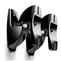 Кронштейн для акустических систем (Holder LSS-6001) (черный) - Подставка, кронштейнПодставки и кронштейны<br>Кронштейн для акустических систем Holder LSS-6001, настенный, цвет черный, максимальный вес оборудования 5 кг, тип: поворот и наклон, угол наклона -15°/+3°, угол поворота -180°/+180°.