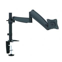 Ultramounts UM 702 (черный) - Кронштейн для монитораКронштейны для мониторов<br>Кронштейн для мониторов, 13quot;-27quot;, максимальная нагрузка - 9 кг, настольный, поворот и наклон.