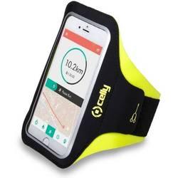 Универсальный чехол на руку до 6.2 (Celly Armband ARMBANDXXLYL) (черно-желтый) - Универсальный чехол для телефонаУниверсальные чехлы для мобильных телефонов<br>Универсальный чехол на руку плотно облегает корпус и гарантирует надежную защиту от потертостей и других нежелательных внешних повреждений.
