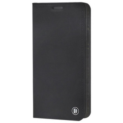 Чехол-книжка для Samsung Galaxy J7 Neo (DYP Casual Wallet DYPCR00031) (черный) - Чехол для телефонаЧехлы для мобильных телефонов<br>Чехол плотно облегает корпус и гарантирует надежную защиту от царапин и потертостей.
