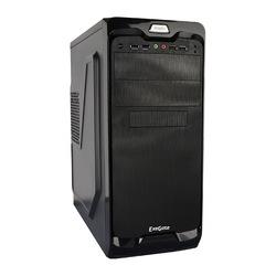 Exegate UN-604 400W Black - КорпусКорпуса<br>Компьютерный корпус Midi-Tower, блок питания 400Вт, форм-фактор ATX, mATX, спереди: 2хUSB 2.0/2хUSB 3.0, наушн., микр., материал: сталь.