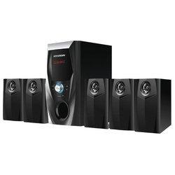 Hyundai H-HA500 - Колонка для компьютераКомпьютерная акустика<br>Hyundai H-HA500 - число каналов: 5.1, мощность: 150 Вт, радио
