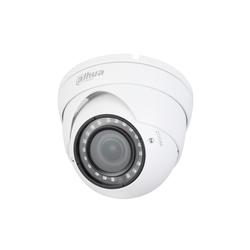 Dahua DH-HAC-HDW1100RP-VF-S3 2.7-13.5мм (белый) - Камера видеонаблюденияКамеры видеонаблюдения<br>1Мп купольная HDCVI видеокамера с ИK подсветкой, 25 к/с при разрешении 720P, переключаемый выход HD/SD, объектив 2.7мм-13.5мм, дальность ИК подсветки до 30м, функция Smart IR, IP67, питание DC 12В.