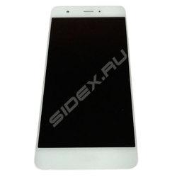 Дисплей для Huawei Nova 5 с тачскрином Qualitative Org (LP) (белый)  - Дисплей, экран для мобильного телефона