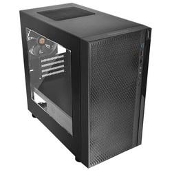 Thermaltake Versa H18 CA-1J4-00S1WN-00 Black - КорпусКорпуса<br>Компьютерный корпус Mini-Tower, без блока питания, форм-фактор mATX, Mini-ITX, спереди: USB x3, наушн., микр., материал: сталь.
