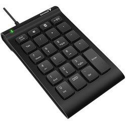 Genius NumPad i130 - КлавиатураКлавиатуры<br>Genius NumPad i130 - цифровой блок, проводной, USB, мембранная, 23 клавиши.