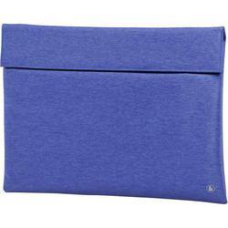 Чехол для ноутбука 15.6 (Hama Slide 00101734) (синий)  - Сумка для ноутбукаСумки и чехлы<br>Стильный тонкий чехол для хранения и транспортировки ноутбука с диагональю экрана 15.6 дюймов. Выполнен из высококачественной ткани. Магнитная застежка для быстрого доступа и фиксации. Большой передний карман для дополнительных принадлежностей или личных вещей.