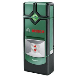 Детектор Bosch Truvo - ДетекторДетекторы <br>Детектор Bosch Truvo - цветовая индикация, обнаружение электропроводки, глубина обнаружения электропроводки: 50 мм, обнаружение черных металлов, глубина обнаружения черных металлов: 70 мм, обнаружение цветных металлов, глубина обнаружения цветных металлов: 60 мм, время работы: 5 ч, автоматическое выключение, звуковая индикация, батарейки (аккумулятор) в комплекте, тип батареек : ААА, количество батареек: 3 шт., вес устройства: 150 г