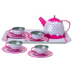 Набор посуды Alex Lots of Dots Tin Tea Set 703D